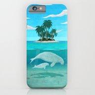 Manatee Island iPhone 6 Slim Case
