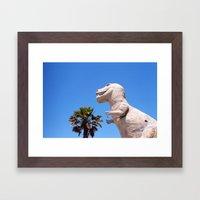 Dinosaur!!! Framed Art Print