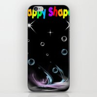Happy Shapes iPhone & iPod Skin