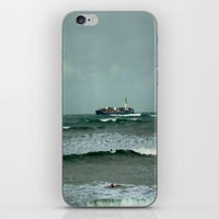 Leistering  Cargo Ship & Surfers iPhone & iPod Skin