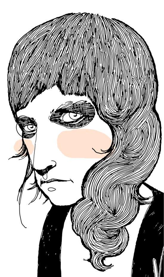 Plain Patti Art Print