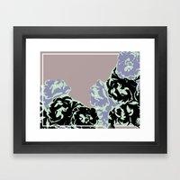 September Monthly Threesome Framed Art Print