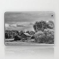 Down on the Farm Black and White Laptop & iPad Skin