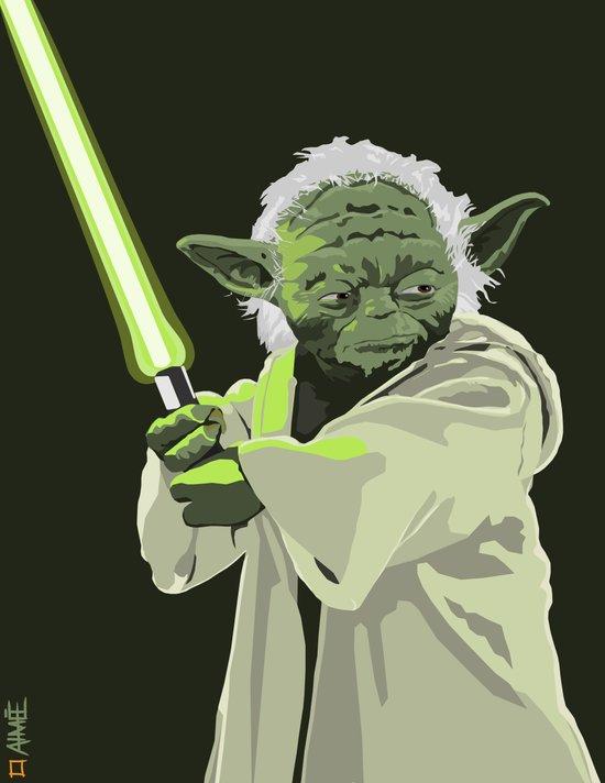 Yoda of Star Wars Art Print