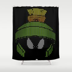Marvin The Invading Martian Shower Curtain