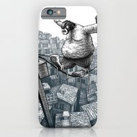 iPhone Cases featuring Furry Fingers by Jason Tirendi