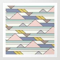The New Geometric Art Print