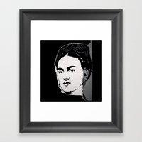 FRIDA - LIFE CURRENT WAL… Framed Art Print