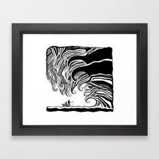 Dark Wave Framed Art Print