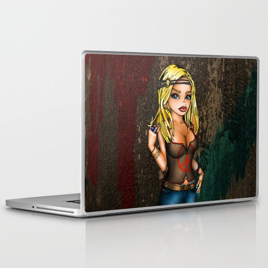 #94 DeeTay Laptop & iPad Skin