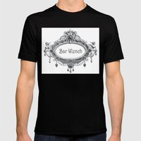 Bar Wench Mens Fitted Tee Black SMALL
