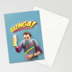 Sheldon  - BAZINGA! Stationery Cards