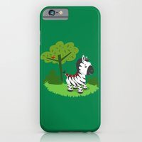 iPhone & iPod Case featuring ZEBRA ROAD by AnishaCreations