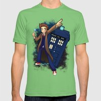 Doctor Who Mens Fitted Tee Grass SMALL