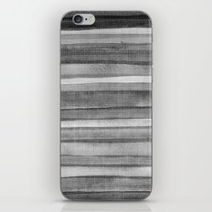 Watercolor B&W iPhone & iPod Skin