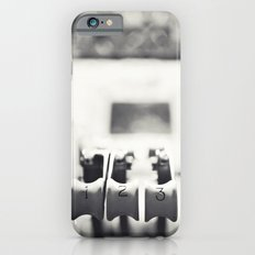 Thrust Levers in Black and White iPhone 6 Slim Case