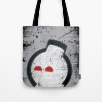 Happy Bombs Tote Bag