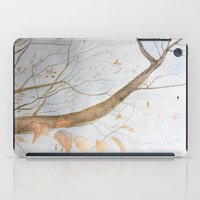 Watercolor under the trees iPad Case