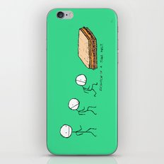Evolution of a Tuna Melt iPhone & iPod Skin