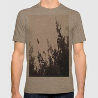 Butterfly Mens Fitted Tee Tri-Coffee SMALL