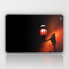 Red Streetlight Laptop & iPad Skin