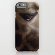 Portrait of a Giraffe iPhone 6 Slim Case