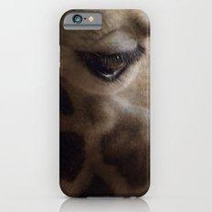 Portrait of a Giraffe iPhone 6 Slim Case