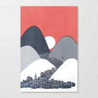 Midnight Sun Canvas Print