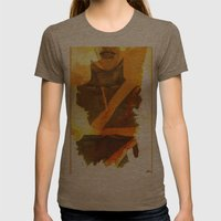 Ms Marvel Womens Fitted Tee Tri-Coffee SMALL