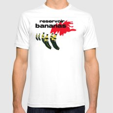 reservoir bananas White SMALL Mens Fitted Tee