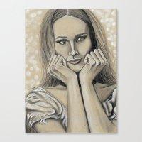 Hey Maddalena Canvas Print