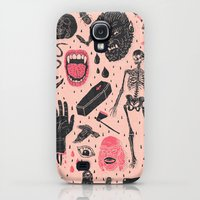 Galaxy S4 Cases featuring Whole Lotta Horror by Josh Ln