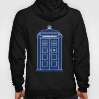 TARDIS Blueprint - Doctor Who Hoody