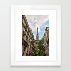 Hello, Paris Framed Art Print