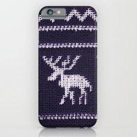 iPhone & iPod Case featuring Scandinavian X-Mas by Monika Strigel