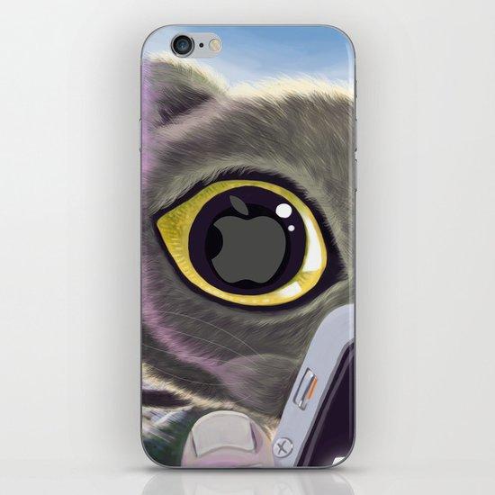 Falling Cat & Hero iPhone & iPod Skin