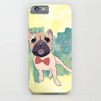 Frenchie Art. Bruno. iPhone 6 Slim Case