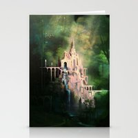 Mysterious Castle Stationery Cards