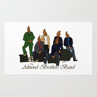 The Almond Brothers Band Rug