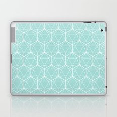 Icosahedron Seafoam Laptop & iPad Skin