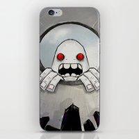Scream (Looking in) iPhone & iPod Skin