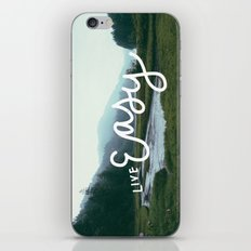 Live Easy iPhone & iPod Skin