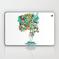 Laptop & iPad Skin featuring Thick Lucidity by Space Jungle