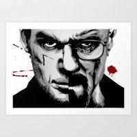 Dexter Morgan Vs Walter … Art Print