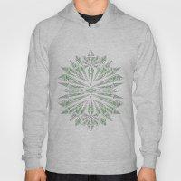 Green Kaleidoscopic Snow… Hoody