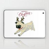 Deer Pug Laptop & iPad Skin