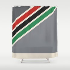 vhs box1 Shower Curtain