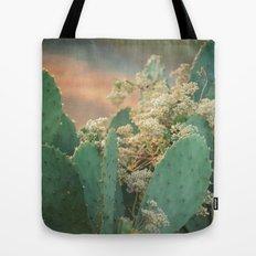 Cactus and Vine -- Scenic Botanical Tote Bag