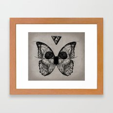 flydeath Framed Art Print