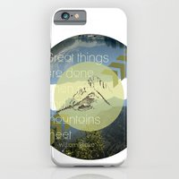 iPhone & iPod Case featuring Great things by bri musser